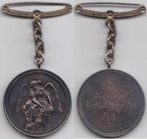 1927 - German Championship Medal